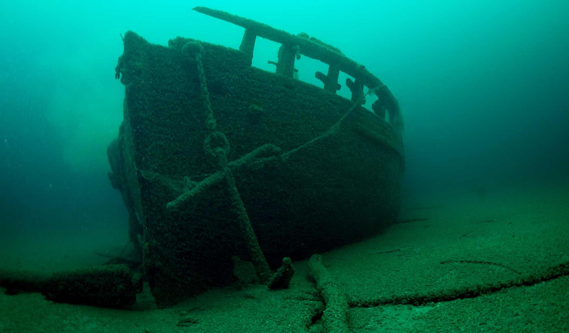 Old Cars Underwater