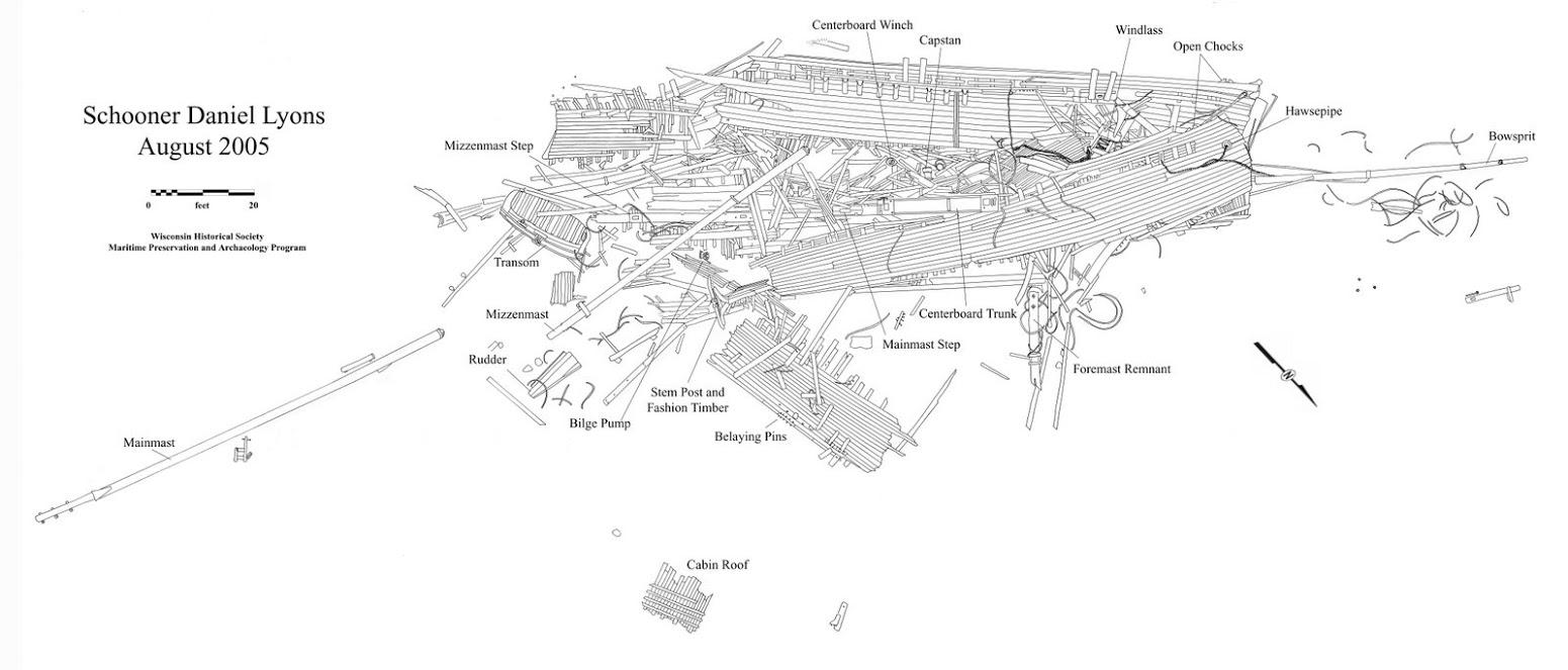 Daniel Lyons 1873 Wi Shipwrecks Cabin Mate Wiring Diagram Img